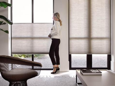 Cortinas Duette Top Down Bottom Up Living