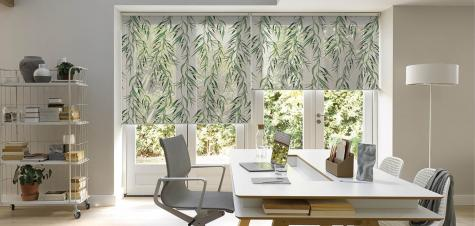 Cortinas Roller Shadesign Oficina Nordica Hunter Douglas