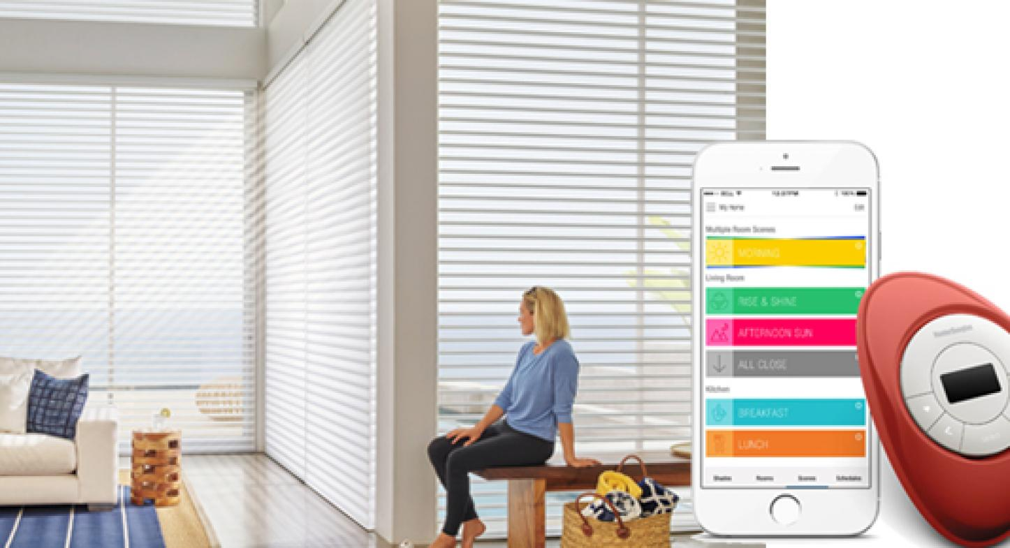 Sistema de cortinas inteligentes PowerView™